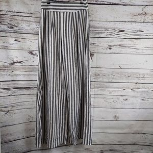 L'ATISE BY AMY small wide leg striped pants